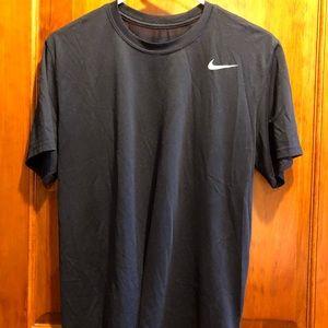 Nike light dri-fit tee navy